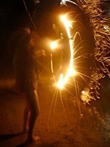 firework feet